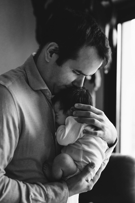 Photographies de bébé à la maison - Amour Etc.